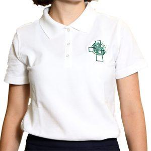 short sleeve cotton/pique girls shirts