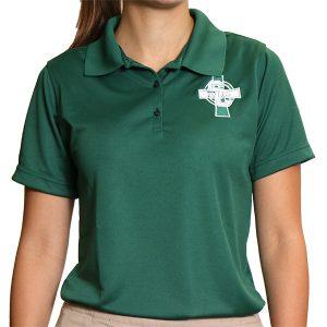 short sleeve performance girls shirt